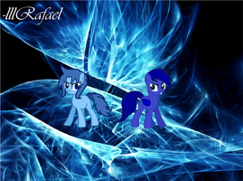 Blue Star and Blade Rush by lllRafaelyay
