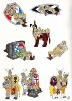 SSU Subraces: Shield Dwarves by EmperorNortonII