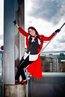 Grell shoot - Red reaper about town by Winxhelina