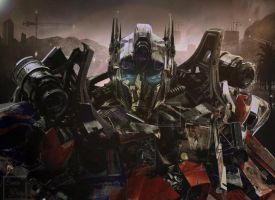 Optimus Prime What If -- (Transformers 4) by Lady-Elita-One