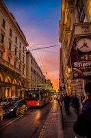 Evening in Rome! :D What a city... by stevegek