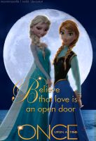 Believe that love is an open door by moonstarsparkle