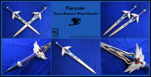 Fairytail: Erza Scarlet's Heaven's Wheel Swords by Tatsutetsu