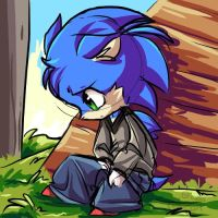 Sonic is emo by th351