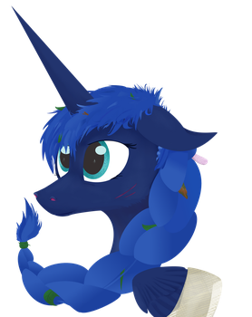 Forest Luna by Pony-from-Everfree