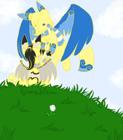 Fly with me~ by SkittyKittyCat