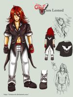 Character Sheet: Viers by kirej7