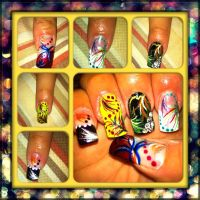Nail boss nails by pierrettepaola