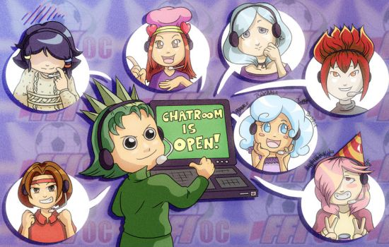FFI-OC: Chat Room! by Card-Queen