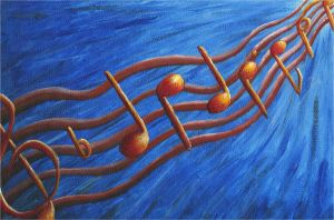 Music Notes by Xscape-rtist