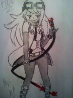 Air Rider Kim's Weapon: Devil's Tail by BebeKimichi
