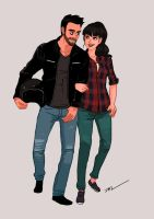 Sergio and Ana by tohdaryl