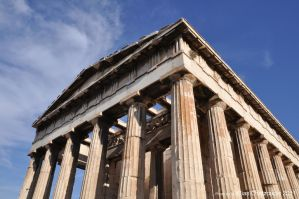 Temple of Hephaestus 2 by Elias-Chatzoudis