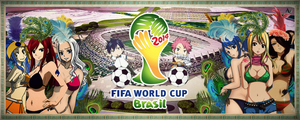 FIFA World Cup Brasil 2014 - FAIRY TAIL SAMBA by AxelVera96