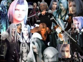 Sephiroth everywhere by KatsumiKoomiGogo