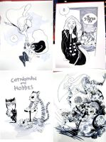 Fan Expo Sketches by caanantheartboy