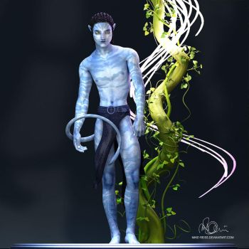 AVATAR Character 3D Render by mike-reiss