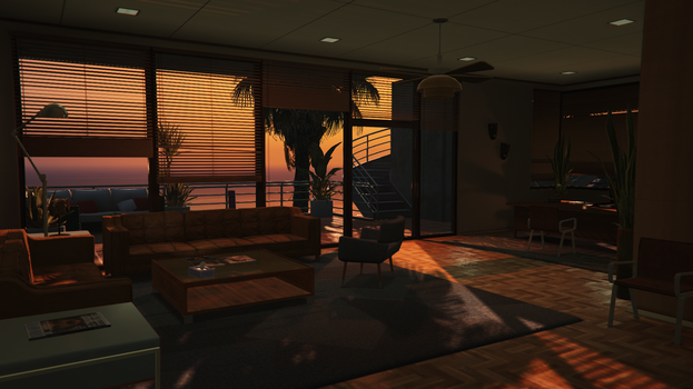 GTA 5 - View of the beach by marios1999