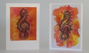 Ornamental Treble Clef by TheGoddess908