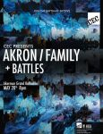 Poster Design Mockup - Akron/Family + Battles by stephenowl