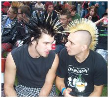 punk-rockers by tayanita