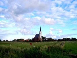 Church on Texel by Pillowbox