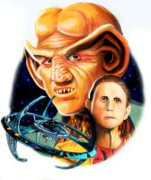 Star Trek DS9 by choffman36