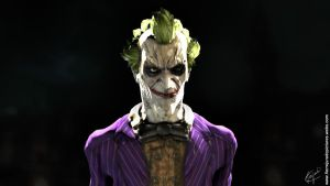 Joker 3D by FelipeFierro