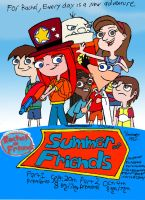 Summer of Friends Parts 1 and 2 Poster by RedJoey1992