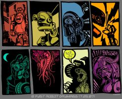 8 Fast Robots by PaulSizer