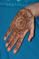 Good bye...full hand henna by Gateship