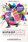 World Hiphop Dance Championship Flyer Template by koza30