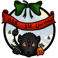 DSB 1st Christmas badge by DarkShadowsBreedable