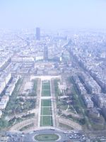 Veiw from the Eiffel Tower by VermilionMaggot