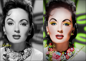 recolor-Brunette-diva-by-Carla Fuchs by CarlaBabi