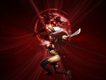 MK9 Skarlet Wallpaper by FallingCyrax