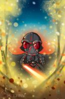 Darth Vader Down 2 by katiecandraw