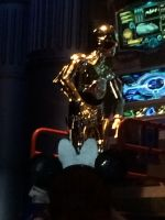 C-3PO is working in Star Tours photo 1 by Magic-Kristina-KW