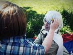 Hetalia - Light in the Snow (RuAme) by Silent--Laughter