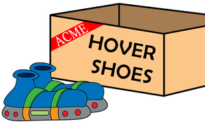 ACME Hover Shoes by LooneyTunerIan