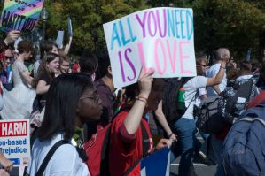 March for Equality Photos 2 by BlueCheshireCat