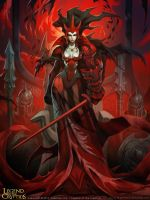 Crimson Queen by el-grimlock