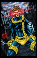 Cyclops reduex Colored by hanzozuken