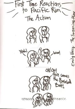Pacific Rim Doodles: The Action by TheSwearingMime