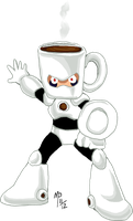 Humor - CoffeeMan by UltimeciaFFB