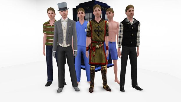 The Sims 3 - Doctor Who - Rory Williams by exangel42