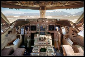 N949CA Flight Deck HDR by jdmimages