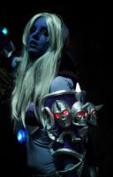 Sylvanas Windrunner - Glowing in the dark by Nikoschka