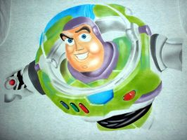 BUZZ LIGHTYEAR AIRBRISHED by javiercr69