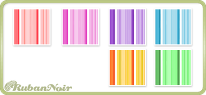 Rainbow Stripes Pattern by Lady-Himiko